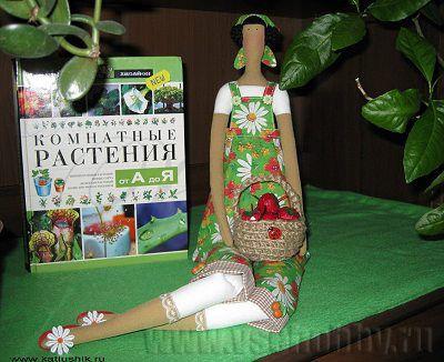 кукла тильда садовница мастер-класс с бесплатной выкройкой