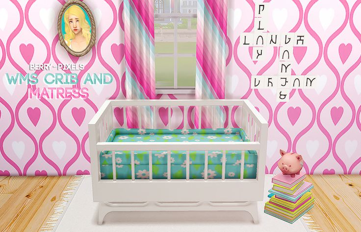 28 Best Images About Ts4 Room Sets Nursery On Pinterest