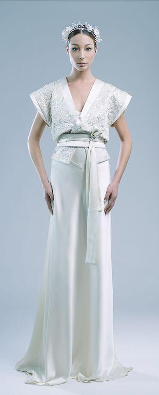 Best Kimono Inspired Wedding Dress Photos - Wedding and Hairstyles ...