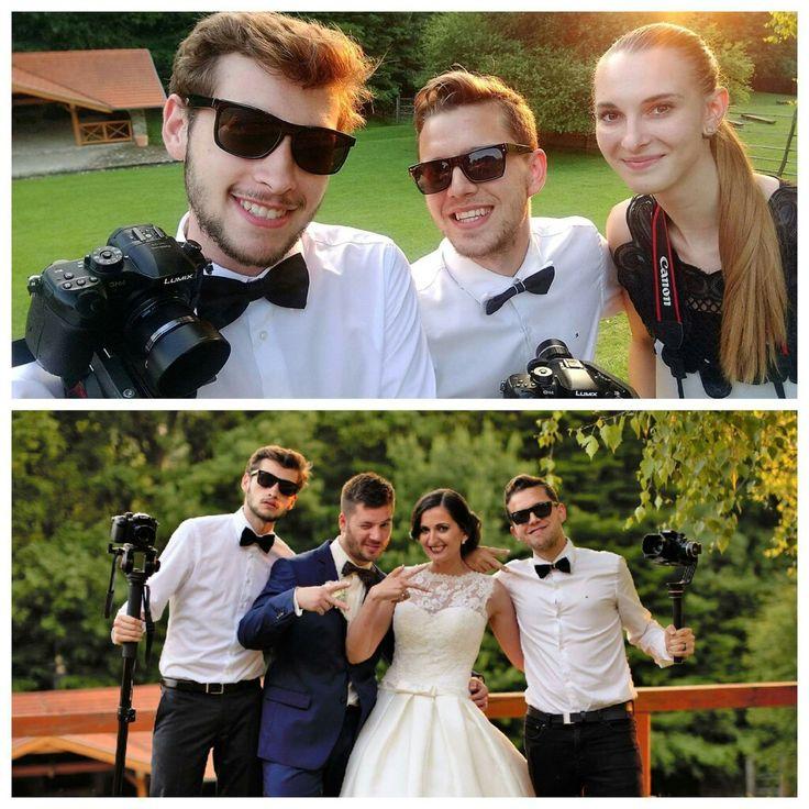 Zábava a zároveň romantika s týmto párikom zaručená 😊😎😍 #stupava #hotelborinka #wedding #photovideoteam #cameramans #4