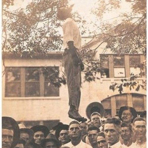 Lynching was 1968, Laws had to be implemented for people not to kill us.