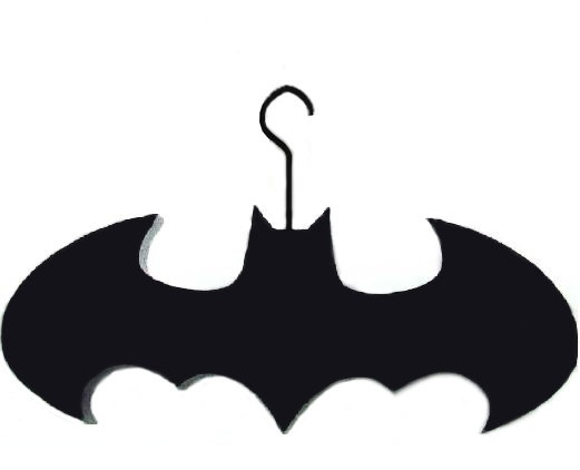 Batman Clothes Hanger https://www.etsy.com/listing/127249822/batman-clothes-hanger-acrylic-laser-cut
