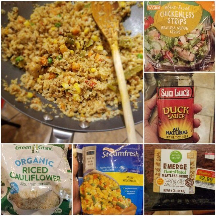 Vegan Chinese Rice In 2020 Vegan Chinese Vegan Vegan Lunch Box