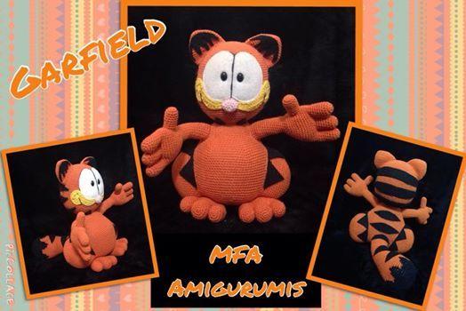 Garfield www.facebook.com/MFAAmigurumis