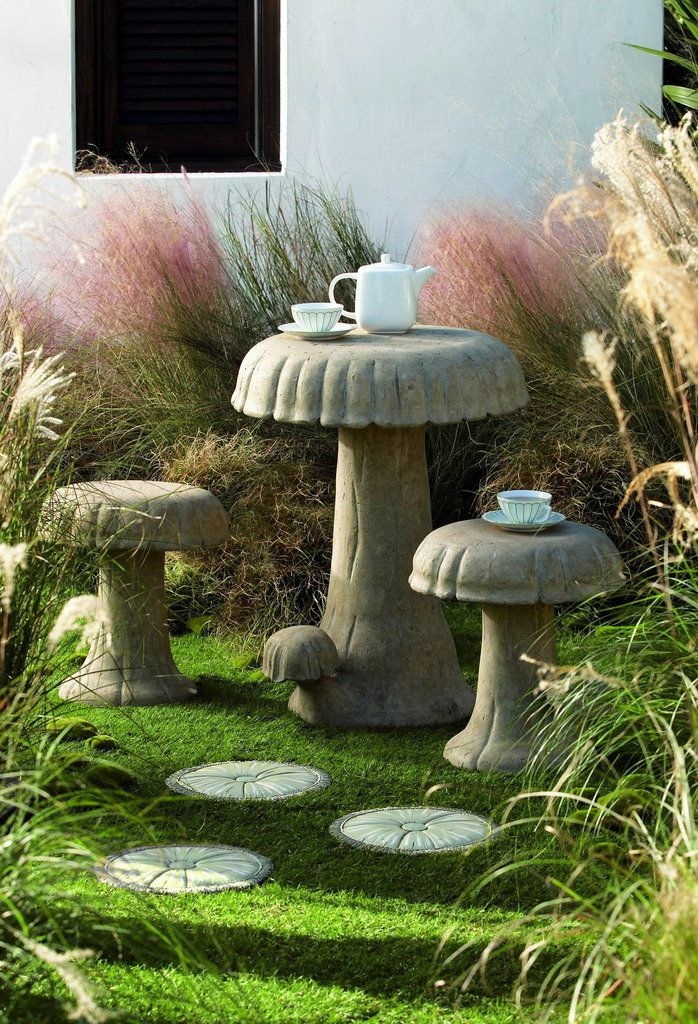 I need to have my husband make me this for my yard. Concrete is so cheap. 80lb bag for less than $4.00. This can be made for less than $20.00