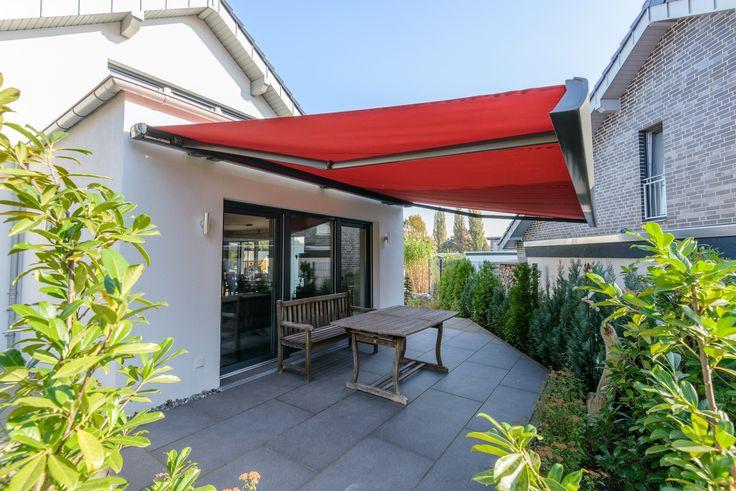 Terrassengestaltung Mit Einer Hochwertigen Markise.#Markise #Markisen  #Terrasse #garten #sonnenschutz