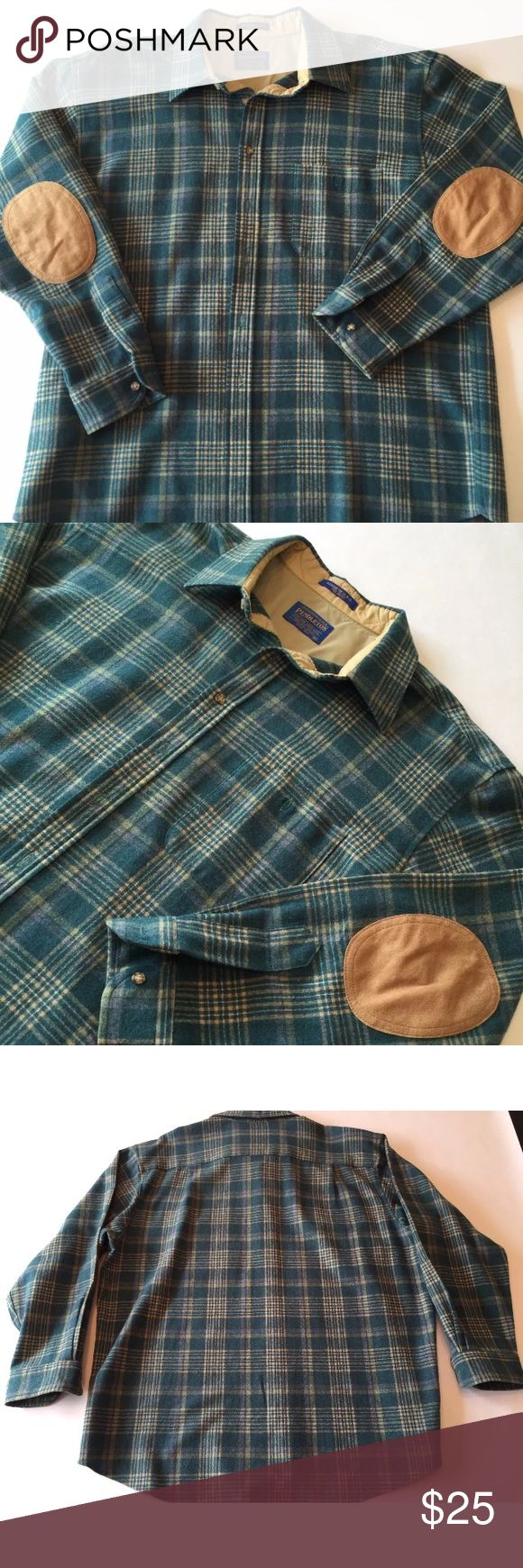 Vintage Pendleton Virgin Wool Shirt Excellent Cond Excellent condition. Men's XL. Made in USA. Shipping same day or next! Pendleton Shirts Casual Button Down Shirts