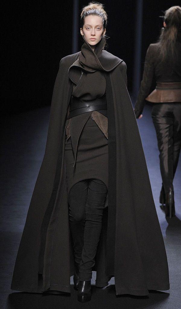 Haider Ackermann. And ya'll say I'm crazy when I say we're all going to be dressed like Jedi pretty soon.