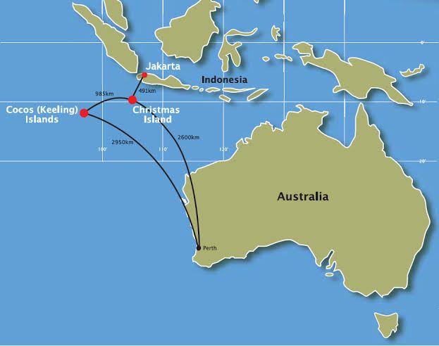 Christmas Island And Cocos Keeling Islands Australian Territory