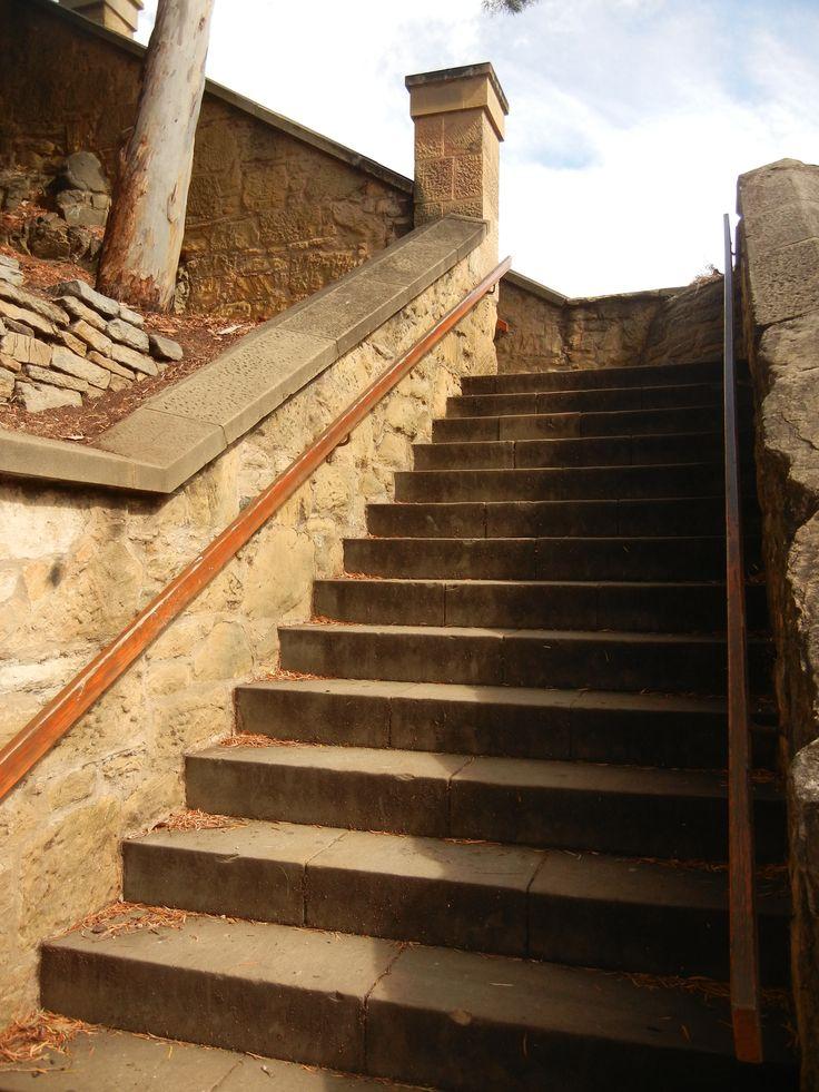 Kelly Steps, Battery Point, Hobart.