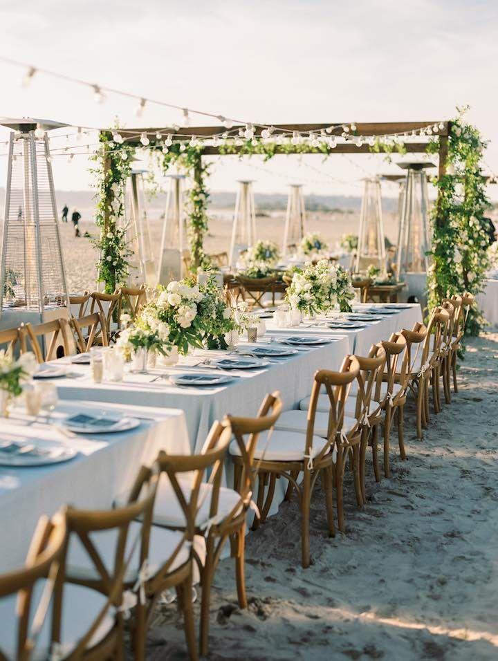 Beachfront San Diego Wedding Garden Vibes 70