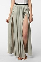 Ecote Double Slit Skirt  #UrbanOutfitters ordering this now!