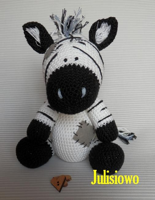 Crochet Zebra Blue Nose Friends Etsy Julisiowo https://www.etsy.com/listing/209169399/crochet-zebra-like-a-chip-the-zebra-blue?ref=shop_home_active_5