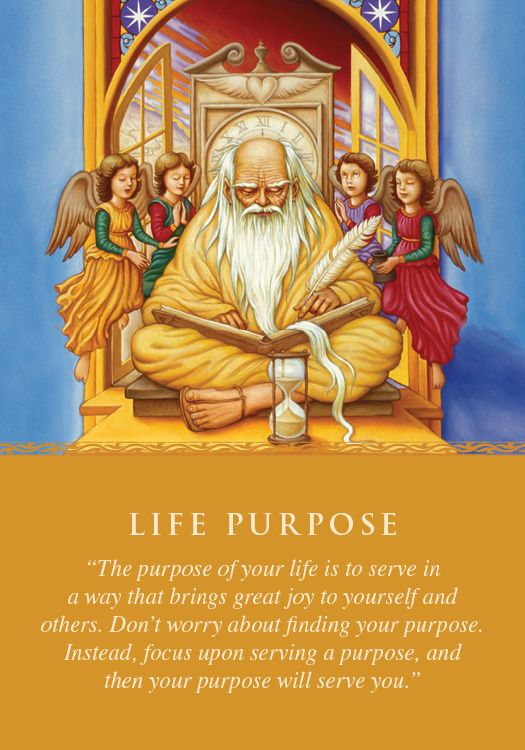 Oracle Card Life Purpose | Doreen Virtue | official Angel Therapy Web site