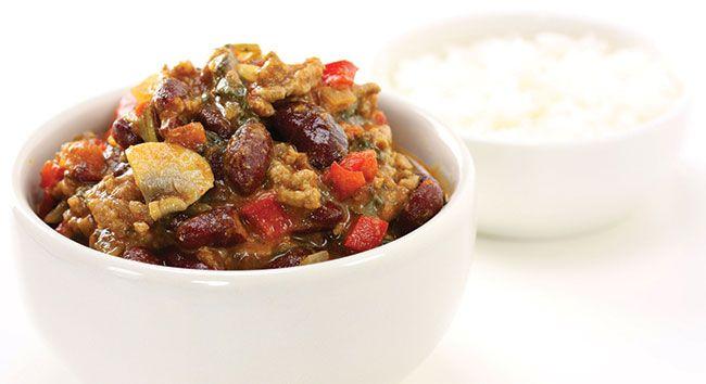 Mexican Beef, Bean & Vegetables | Tony Ferguson Weightloss Program