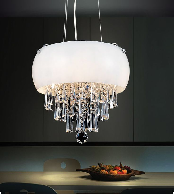 4 Light Mini Pendant With Black Shade