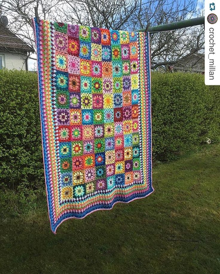 Catona av @crochet_millan  crochetmillan.bloggplatsen.se Fb: Crochet Millan Vacker sommarfilt i en mix av Scheepjes Catonas fina färger  ------------------------------------------------ Catona by @crochet_millan  crochetmillan.bloggplatsen.se FB: Crochet Millan Gorgeous summerblanket in a mix of lovely colours from Scheepjes Catona  #repost #favoritgarner #catona #scheepjescatona #favoritgarnerheartsscheepjes #scheepjesinsweden #scheepjes #blanket #filt #garn #yarn #cotton #cottonyarn…