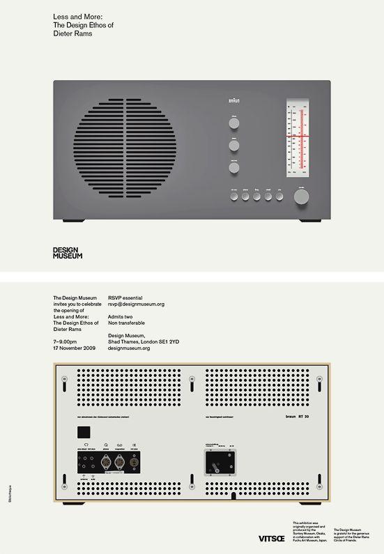 Less and More: Dieter Rams | WANKEN - The Art & Design blog of Shelby White