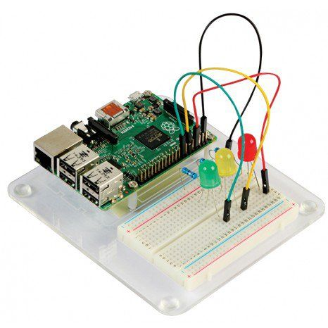 Learn how to code and explore the world of electronics with the *Raspberry Pi Project Kit*