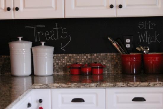 Chalkboard Paint Backsplash Remodelling Home Design Ideas Cool Chalkboard Paint Backsplash Remodelling