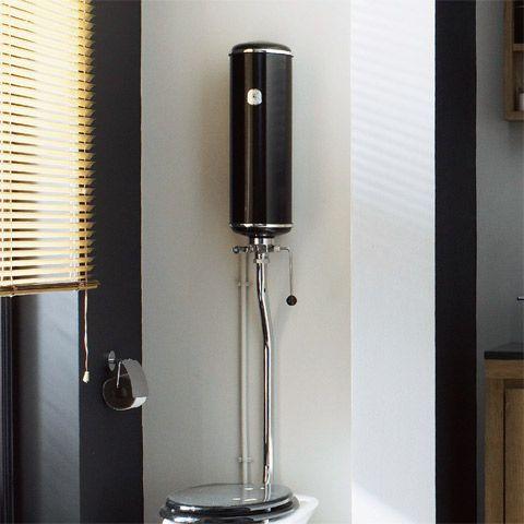 Pi di 25 fantastiche idee su reservoir wc su pinterest wc suspendu toilet - Toilette noir suspendu ...