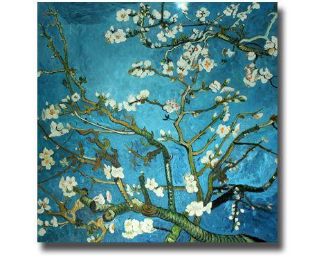 Ölgemälde Van Gogh - Blühender Mandelbaum | Leinwandbild Van Gogh | Kunstkopie | Kunstkopien | Gemäldereplikation | Reproduktion | Alte Meister | Öl auf Leinwand | handgemalt  | Ölgemälde Alter Meister |Gemälde vom Foto | Auftragsmaler | Ölgemälde Kopien | https://www.paintify.de/de/kunstmarkt/alte-meister