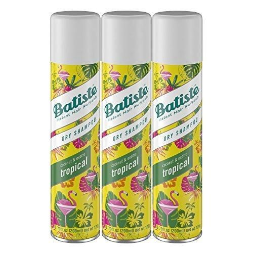 Batiste Dry Shampoo Tropical 3 Count (Packaging May Vary)