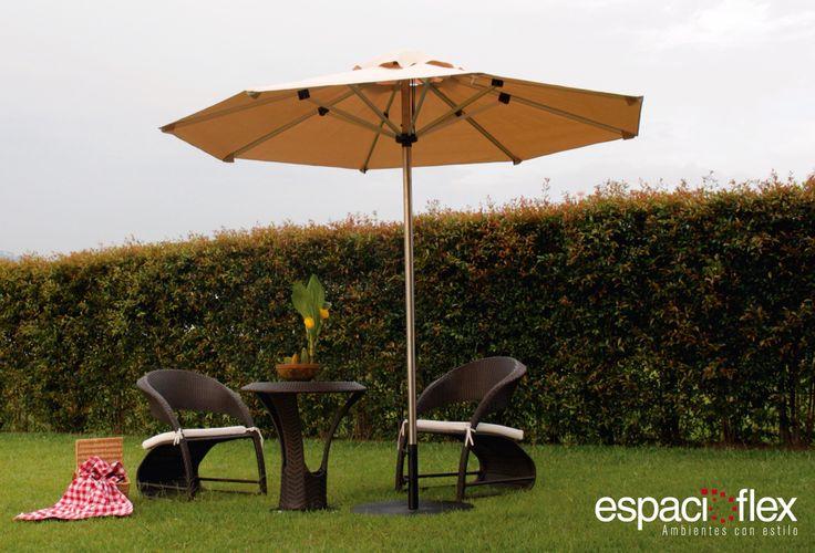 Conoce más sobre nuestro portafolio, esta semana les queremos presentar nuestra línea de sombrillas, ideal para espacios exteriores y jardines. Visita nuestra página web y conoce más de todo lo nuevo que tenemos estés año para ustedes www.espacioflex.com