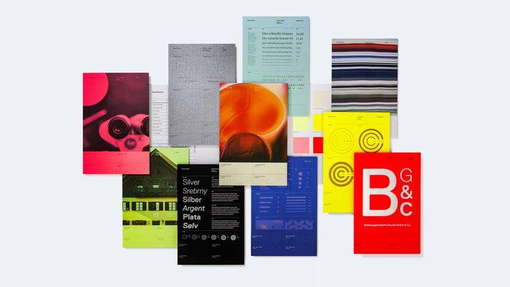 Gmund Swatchbooks on Behance