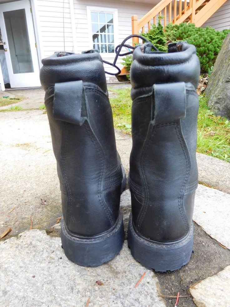 PRO USA UNION MADE STEEL-TOE WORK BOOTS SIZE 11 in Clothing, Shoes & Accessories, Men's Shoes, Boots   eBay