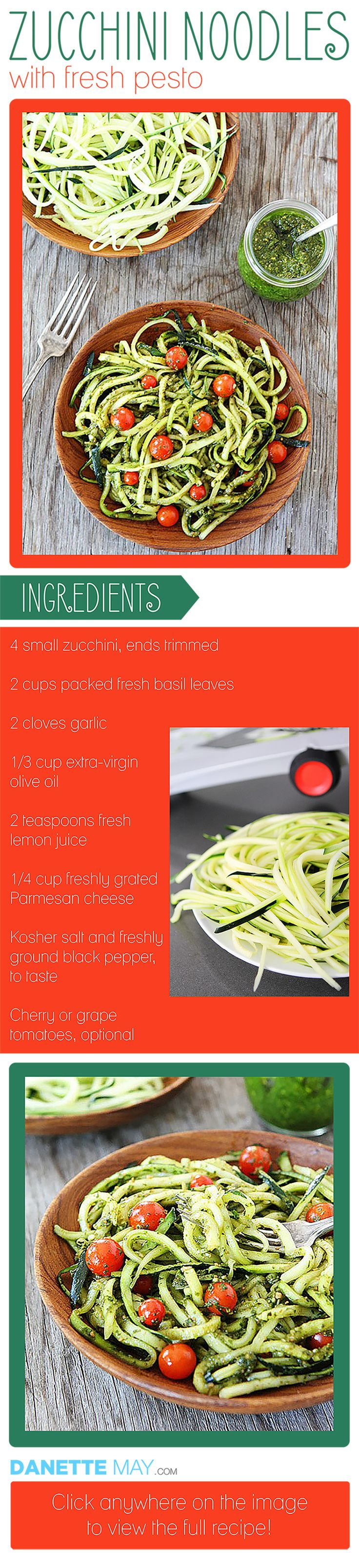 Alternative pasta recipe is infinitely healthier than traditional pasta. This easy recipe is sure to be a favorite for your weight loss plan.
