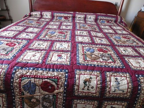 31 best baseball quilts images on Pinterest | Baseball quilt ... : baseball quilt fabric - Adamdwight.com