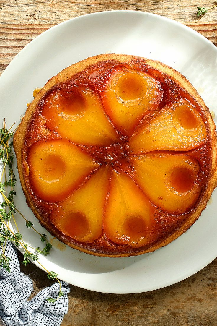 This delightful cake emerges from the oven as golden as a pear tarte Tatin, but with a moist, cake-y layer that sops up all of the luscious pear drippings. Let the oohs and aahs begin. (Photo: Craig Lee for The New York Times)