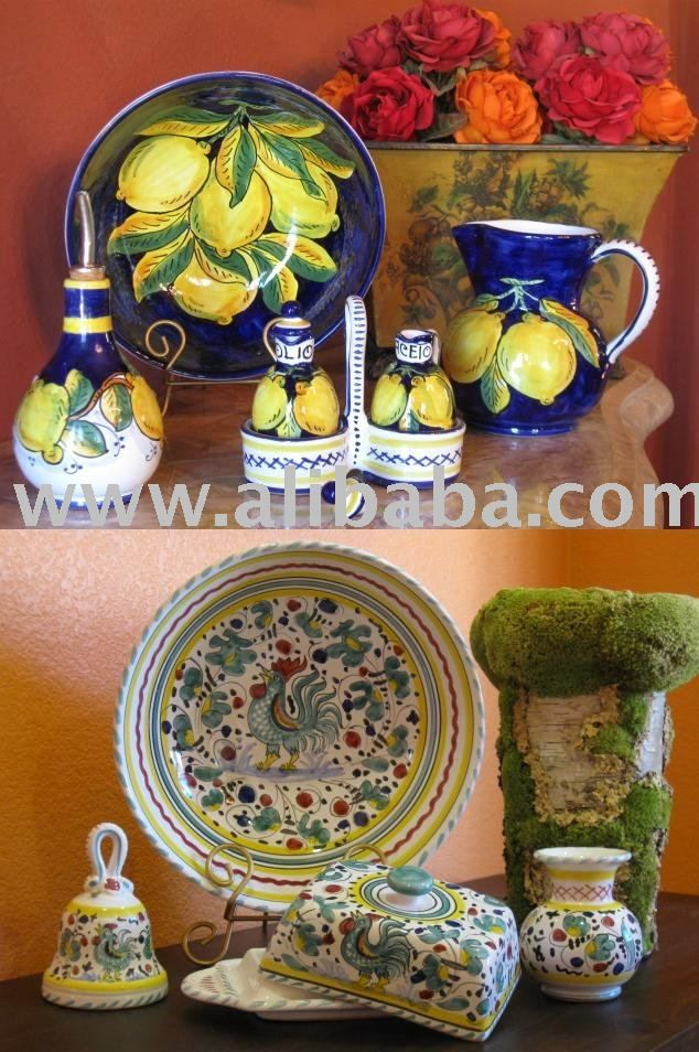 Image detail for -Italian Pottery - Lemon & Deruta Orvieto Dinnerware products, buy ...
