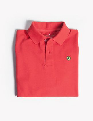 The Sailor's Delight Red Bellwether 360 Polo. 100% American-Grown Supima Cotton. Made in South Carolina. 10% of all sales donated to sea turtle conservation efforts. $68.00