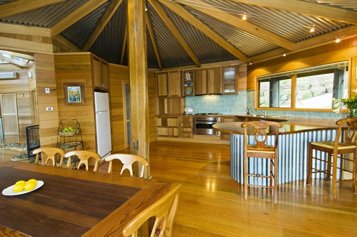 Pole barn cabin ideas joy studio design gallery best for Pole barn house interior designs