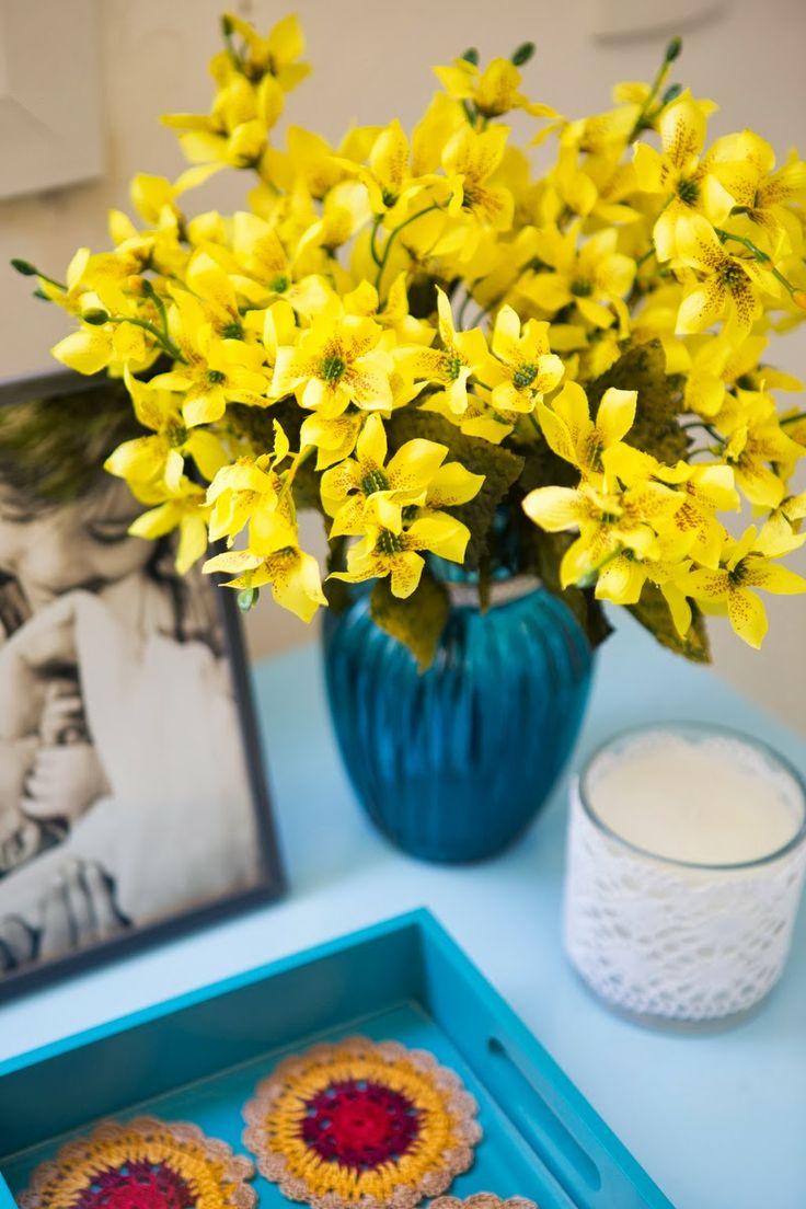 25+ melhores ideias sobre Arranjos De Flores Artificiais no Pinterest  Decor -> Decoracao Banheiro Flores Artificiais