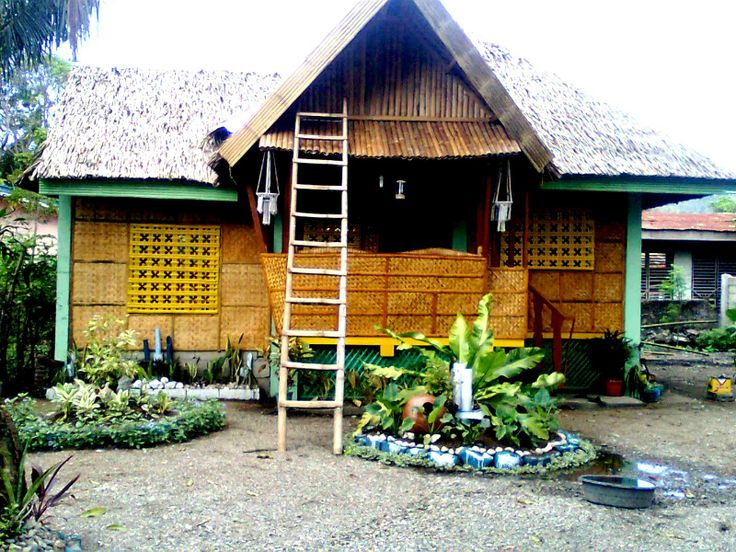 Bahay Kubo a very simple rest houseguest house Bahay