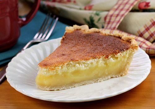 Lemon Sponge Pie Bake a taste of Pennsylvania Dutch goodness in Lemon Sponge Pie.