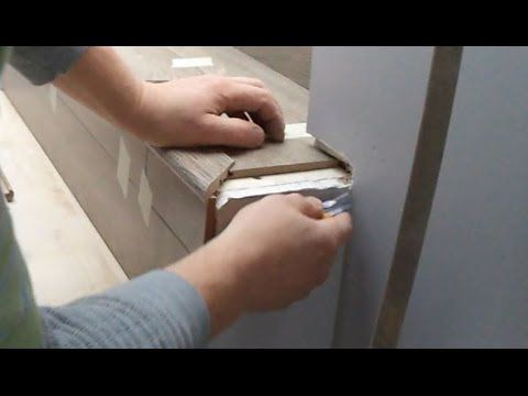 Open Sided Laminate Stairs Installation: Stair Nose Problem - YouTube