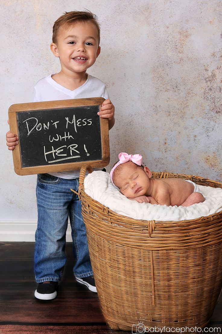 newborn photography but have the dogs sit around her with the chalk board