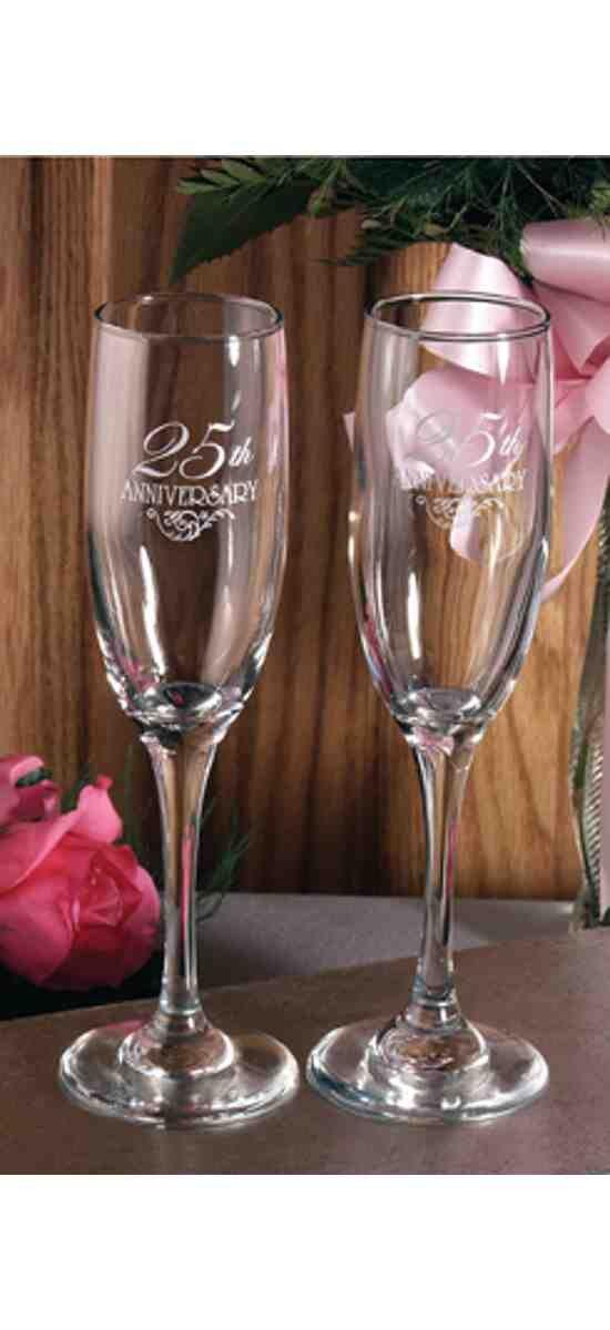 25th Anniversary Flutes