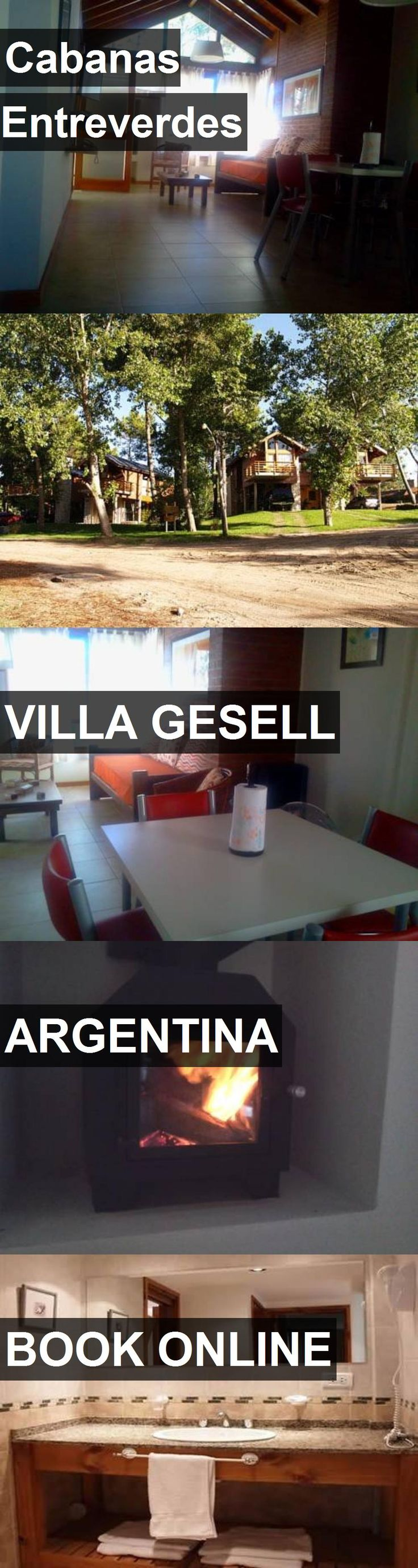 Hotel Cabanas Entreverdes in Villa Gesell, Argentina. For more information, photos, reviews and best prices please follow the link. #Argentina #VillaGesell #CabanasEntreverdes #hotel #travel #vacation