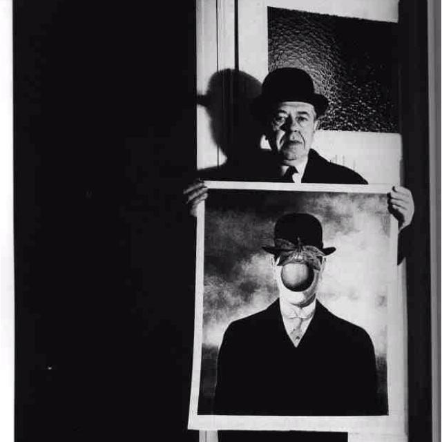 Rene Magritte by Bill Brandt