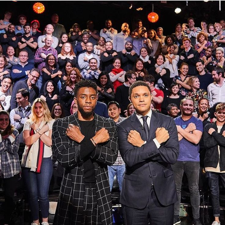 Wakanda Forever! @chadwickboseman wraps his #BlackPanther tour at @thedailyshow in @laperlalingerie full look and @davidyurman jewelry! Thank you to the amazing @ashleypweston for all of the support!