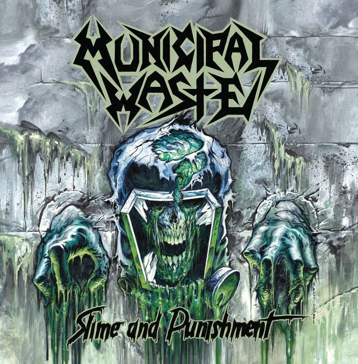 MUNICIPAL WASTE Announce New Album 'Slime And Punishment'!