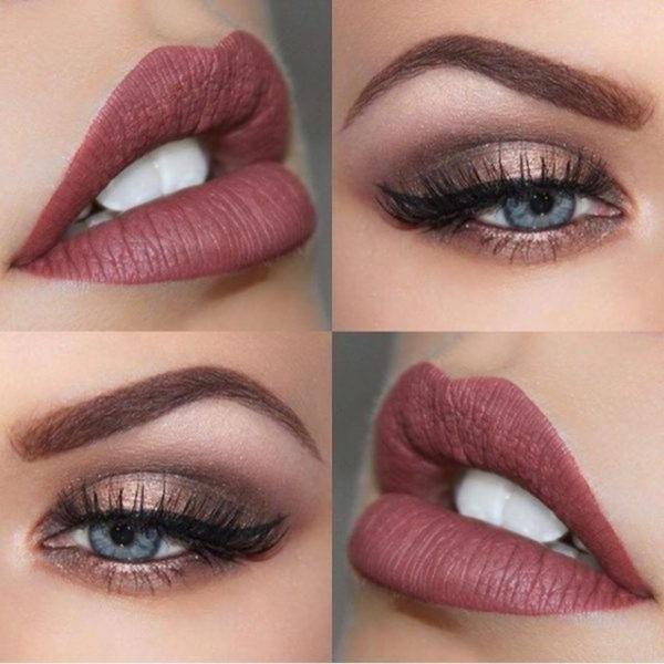 Gorgeous Make-up-Ideen auf den Silvesterabend zu glänzen Das neue Jahr wird im …