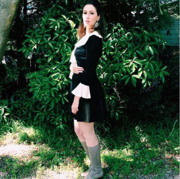 Frocktober day 1 - read more on the blog -   http://pottymouthmama.blogspot.com.au  #vintage #fashion #sixties