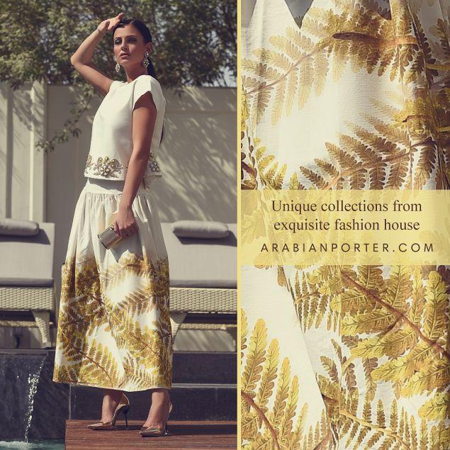 #Beautiful #trendy collections from myboutique.saharalhomoud .Shop now at arabianporter.com #arabianporter #luxuryfashion #onlineshop #womenwear #qatar #dubai #bahrain #kuwait #saudiarabia