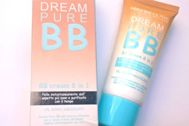 #Maybelline #DreamPure #BB #Cream #Light #Shade #review #price and details on the blog